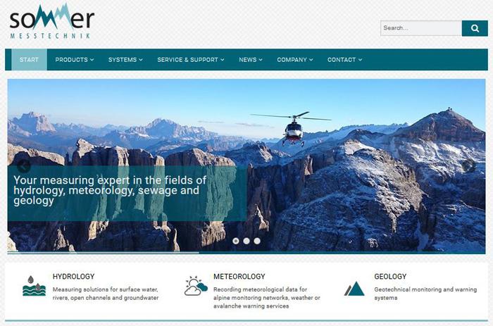 Neue Website Sommer GmbH