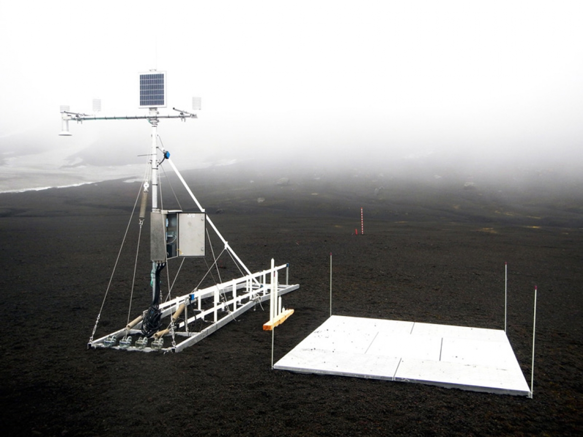 Snow Monitoring Installation for Research Project on Antarctica
